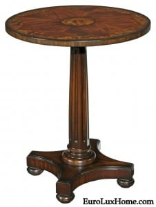 Woodbridge Irish pedestal table