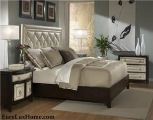 Ambella Home Art Deco Bed Manhattan