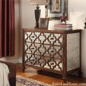 Ambella Home Casablanca chest mirrored