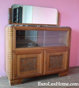 Art Deco Bar Cabinet Antique