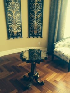Hollywood Regency Style at home