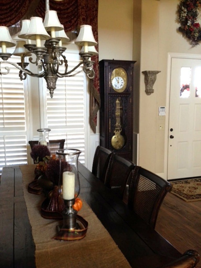 French Antique Grandfather Clock