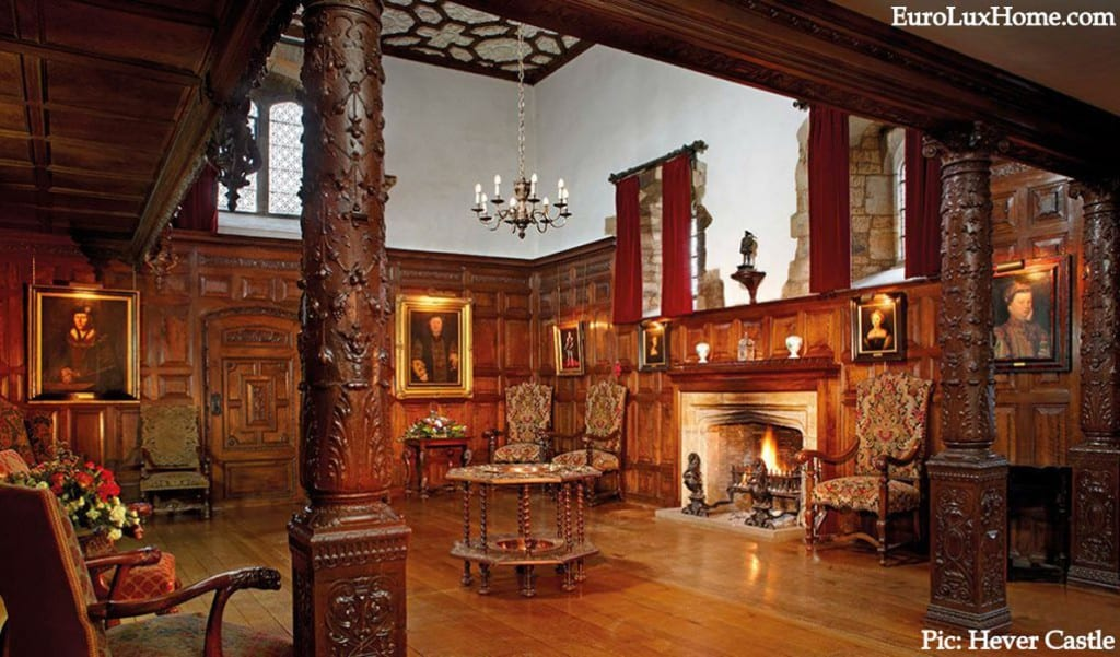 Hever Castle Inner Hall