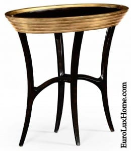 Jonathan Charles Gold Side Table