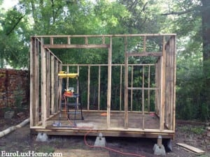 building a new shed