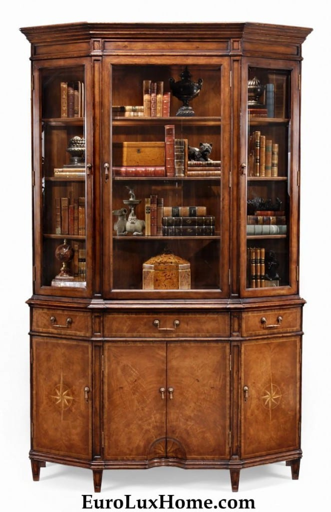 Jonathan Charles China Book Display Cabinet