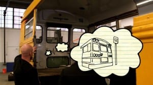 Thought Bubble Bus