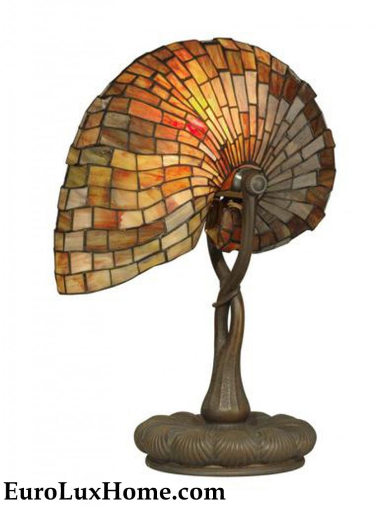 Dale Tiffany Nautilus Shell Lamp