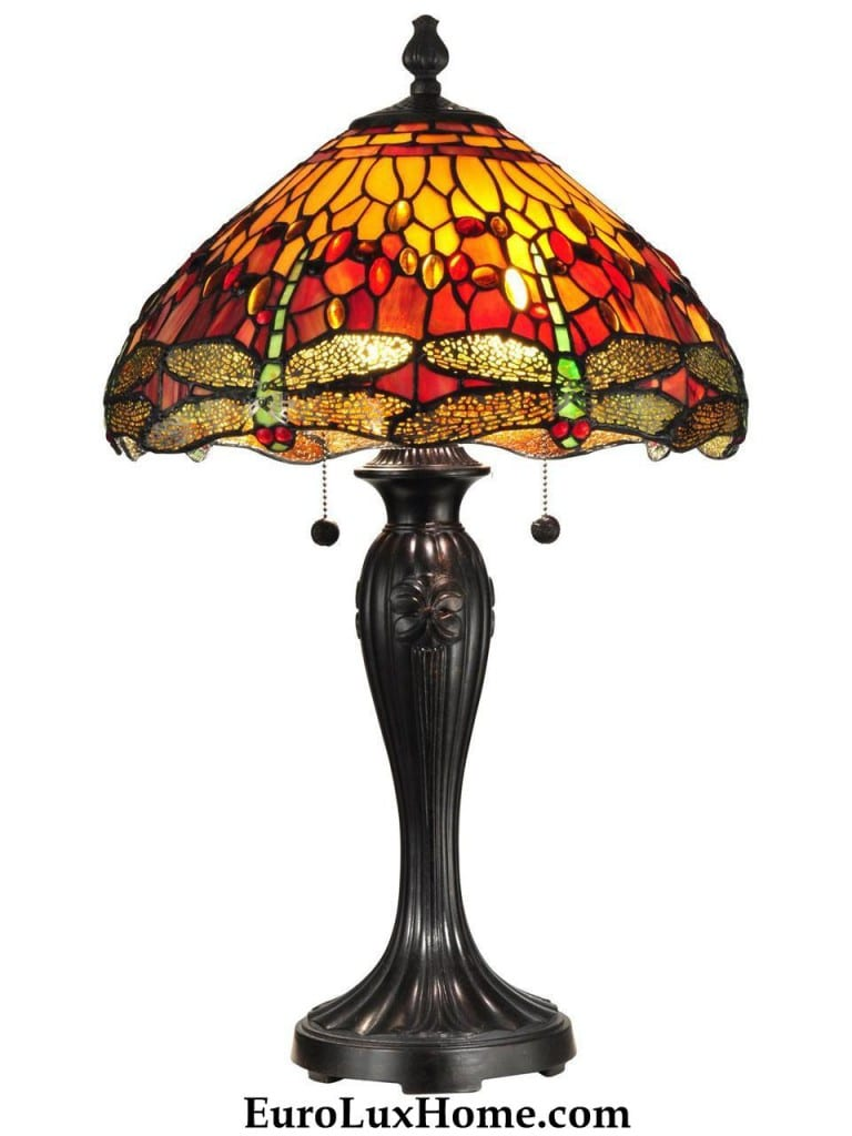 Dale Tiffany Dragonfly Lamp