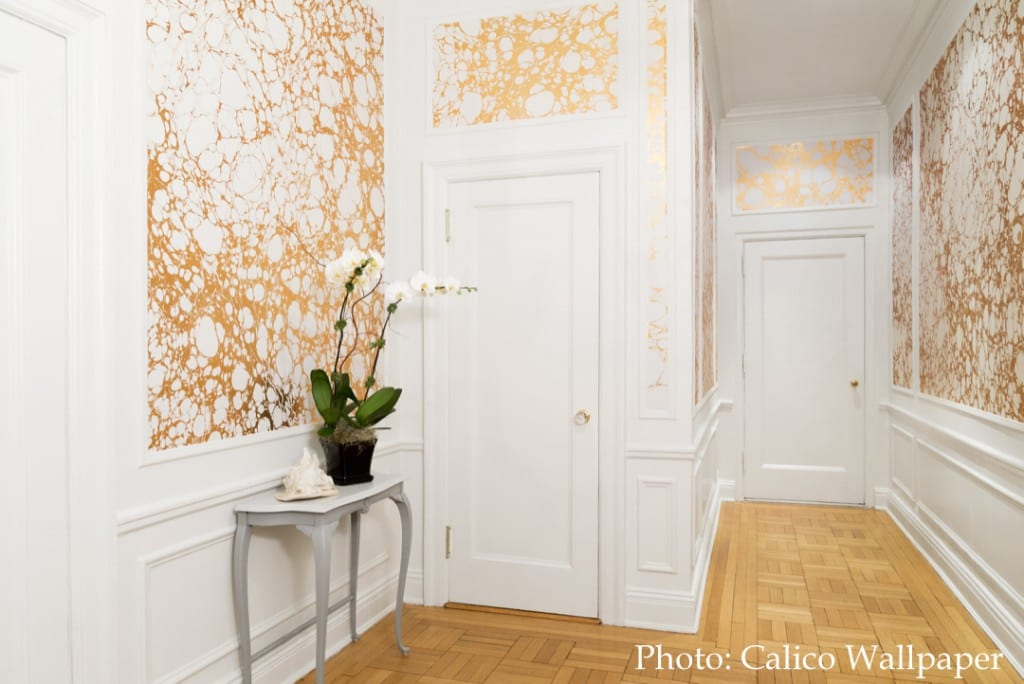Calico Marble Wallpaper