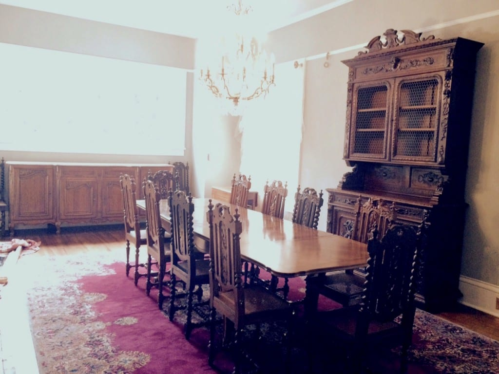French Antique Dining Room