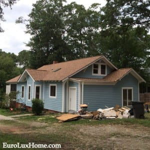 New Roof on 1920s Vintage Bungalow