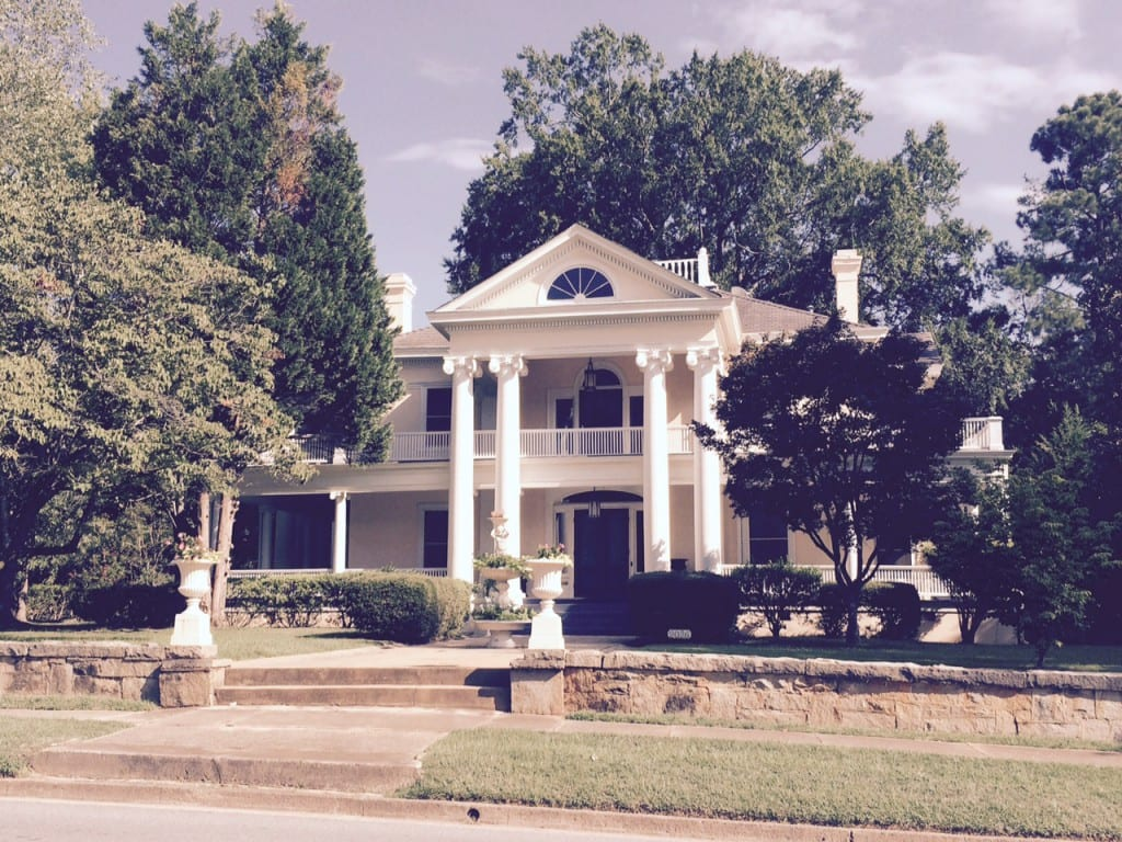 Greco-Roman mansion in Newberry, SC