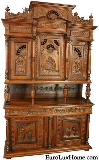 Brittany antique buffet