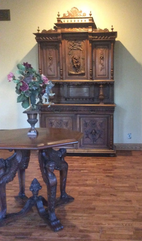Antique Renaissance Buffet in client home