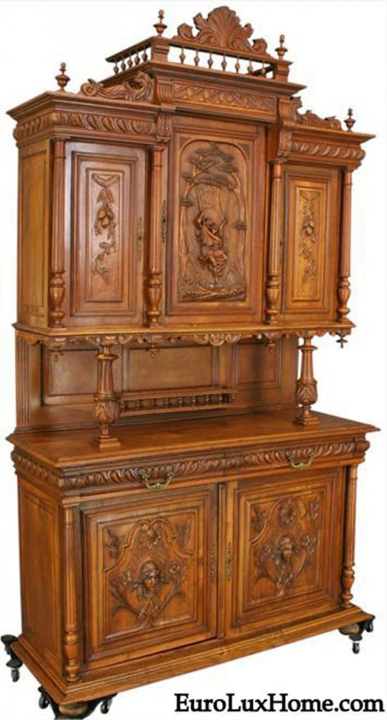 Carved Antique Renaissance Buffet
