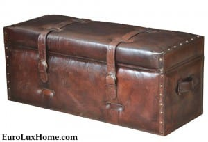 Leather Bench Trunk