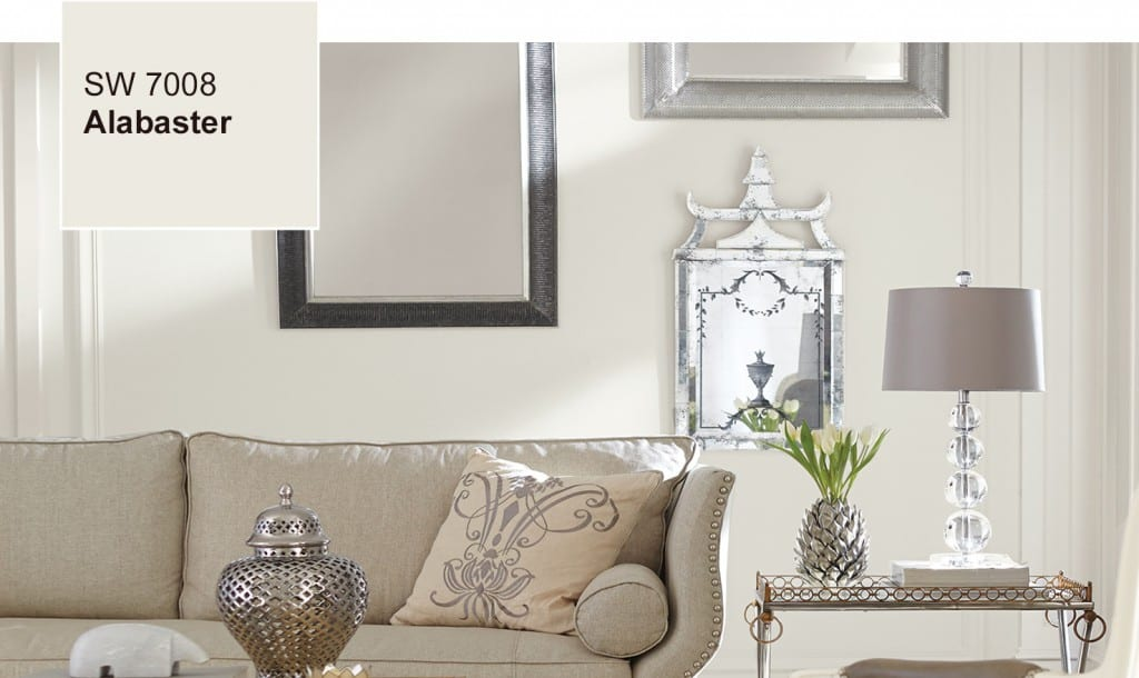 SW paint Color of Year Alabaster
