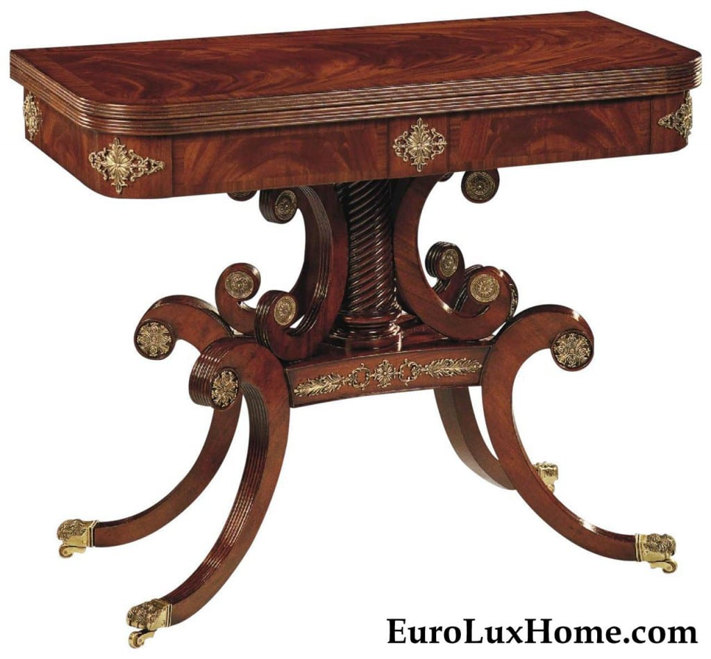 Scarborough House Rosewood Card Table