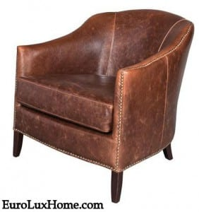 New Madison Leather Club Chair