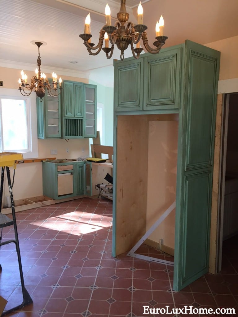 vintage style cabinets