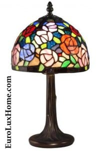 Dale Tiffany Carnation Lamp