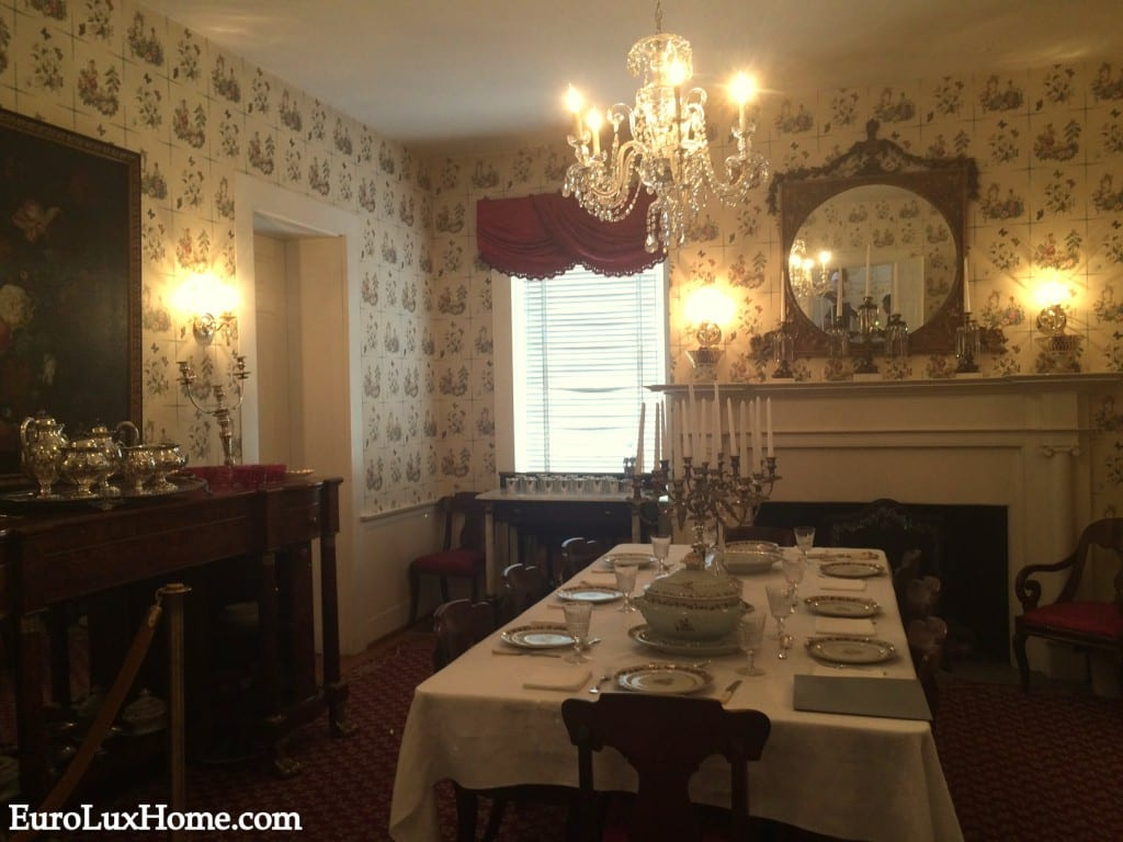 Mary Todd Lincoln Home Dining Room