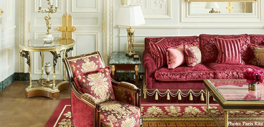 Paris Ritz Imperial Suite