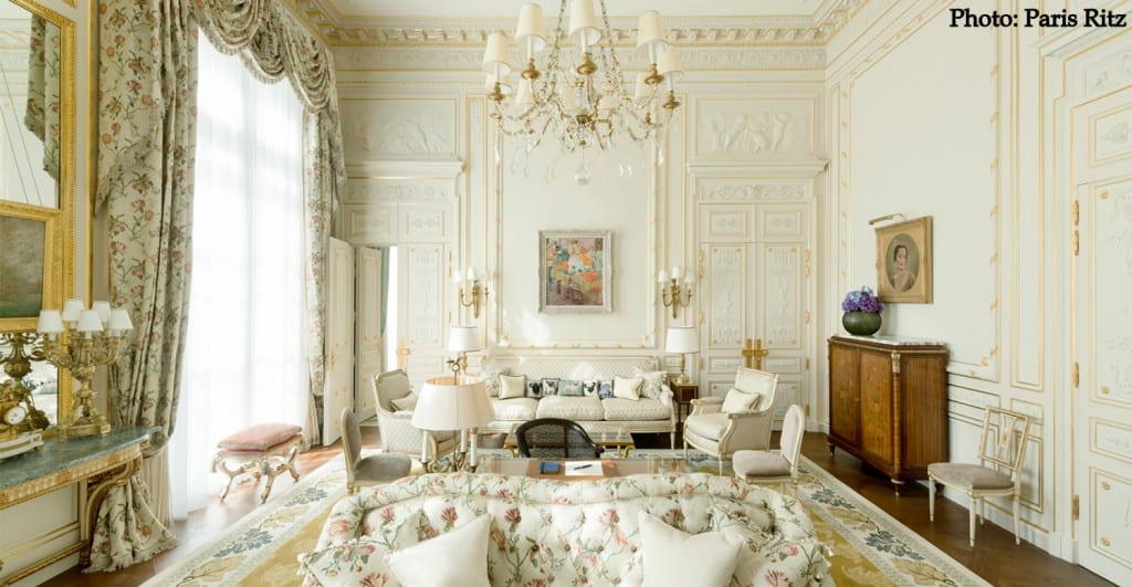 Ritz Paris Windsor Suite
