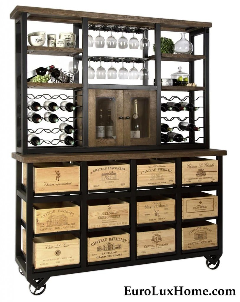Hobbs Germany Bordeaux Wine Box Hutch