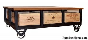 Trendy Wine Hobbs Germany Bordeaux Coffee Table