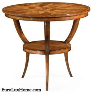 Jonathan Charles marquetry table