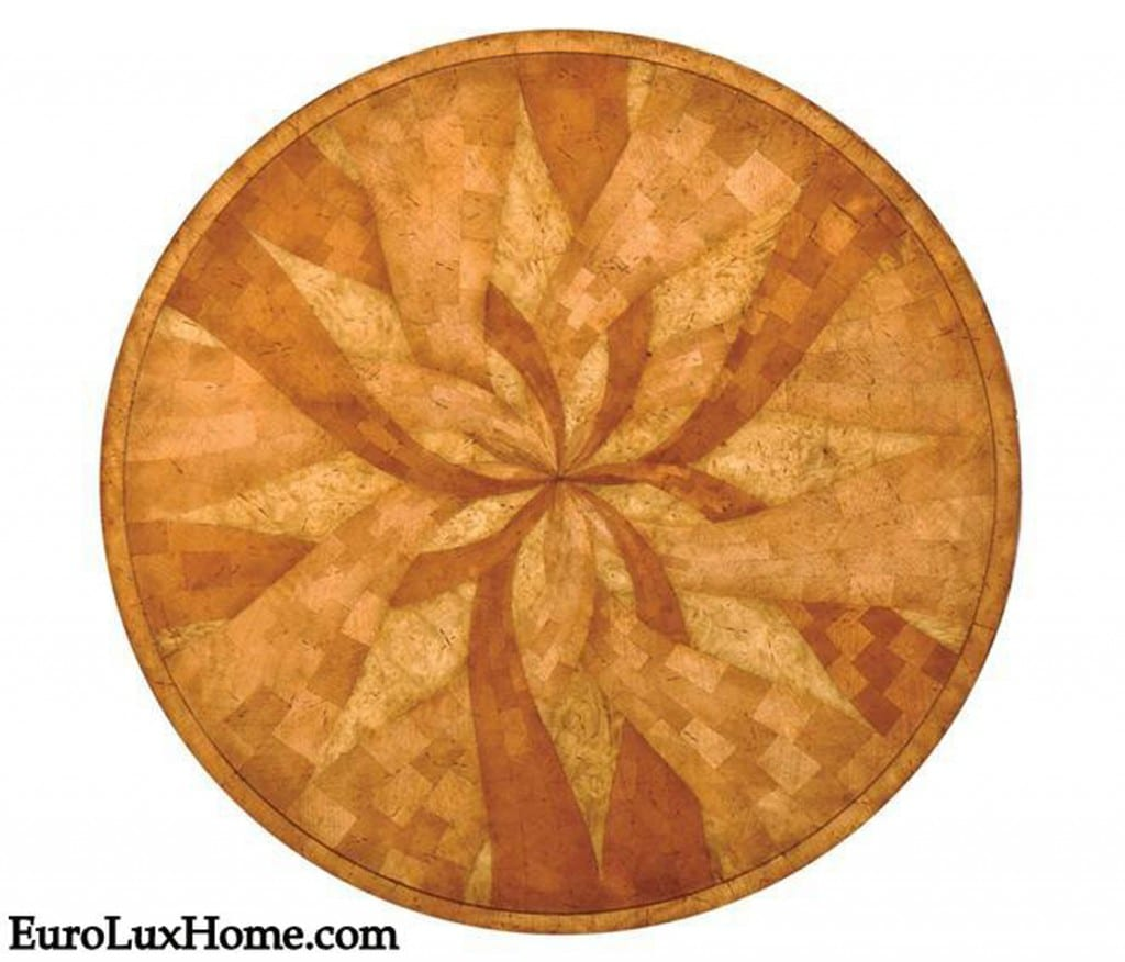 Jonathan Charles marquetry table hand-crafted