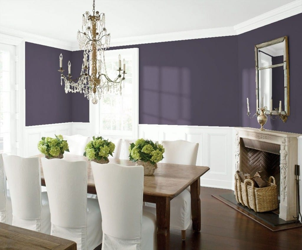 Shadow Benjamin Moore Dining Room