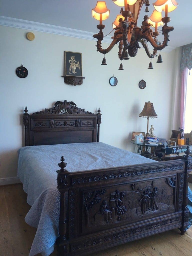 French Antique Brittany Bed