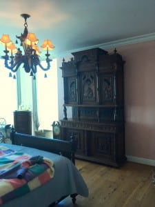 repurposed Antique French Brittany Buffet