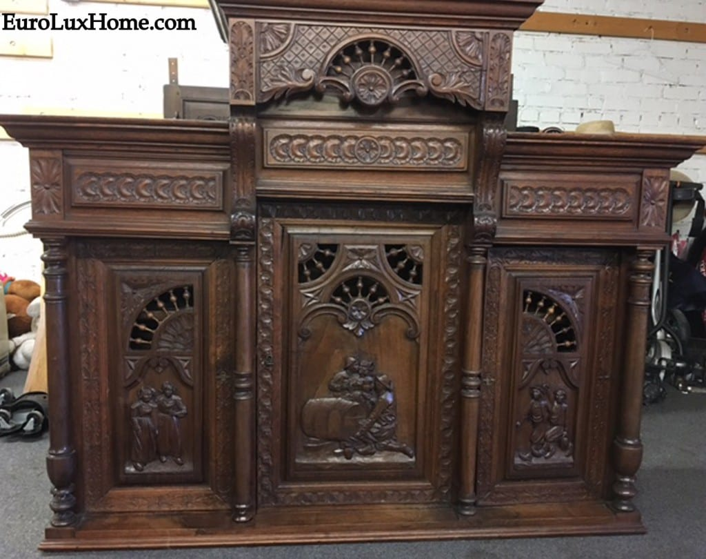 French Antique Brittany Buffet