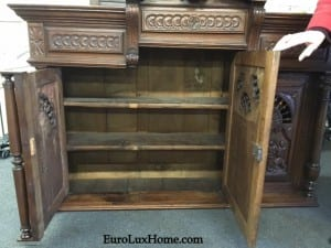 Converted Antique Brittany Buffet