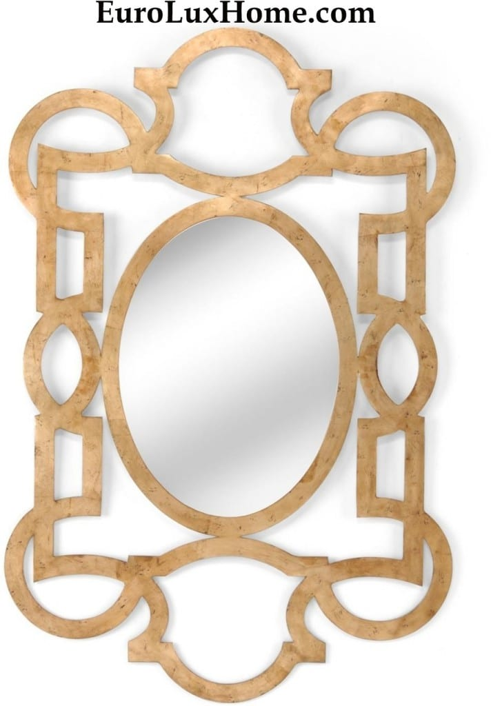 Lisa Kahn Chelse House tracery metal mirror