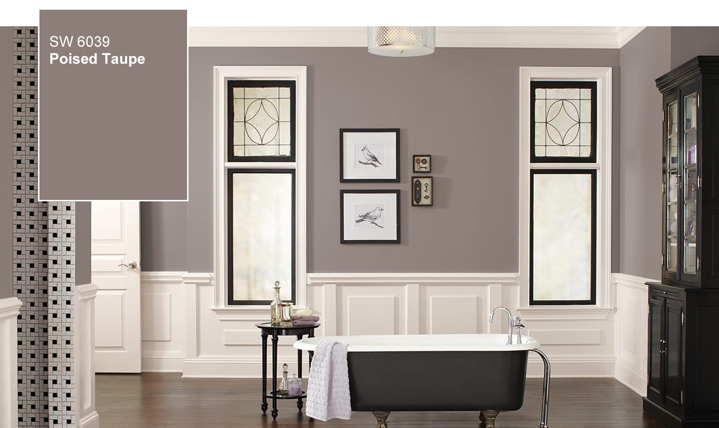 Sherwin Williams Poised Taupe