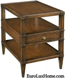 Woodbridge Side Table Distressed