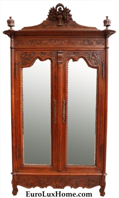 Antique French Provincial Armoire