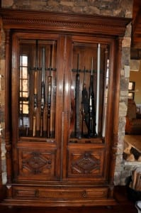 Antique GunCabinet