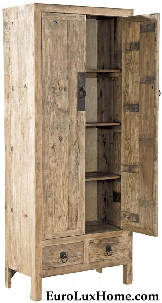 Reclaimed Elm Furniture Classics Cabinet