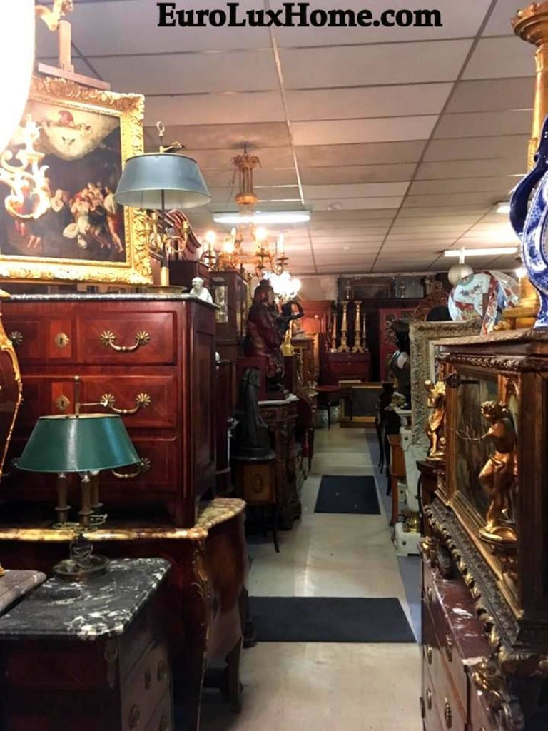 Antiques hunting in France
