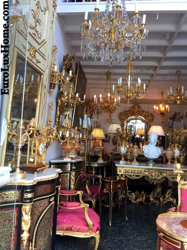 Antiques shopping in France