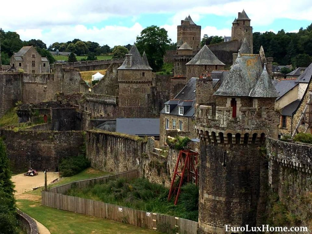 French Chateau Fougeres