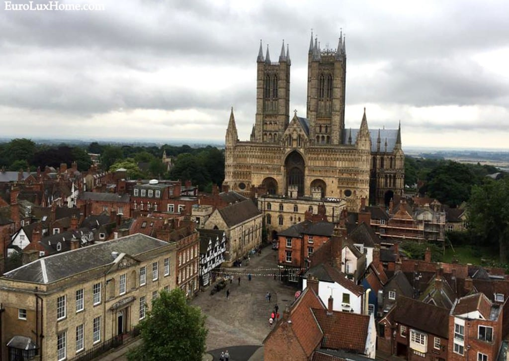 Lincoln Cathedral view