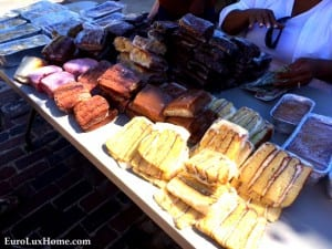 German Cakes at Newberry Oktoberfest