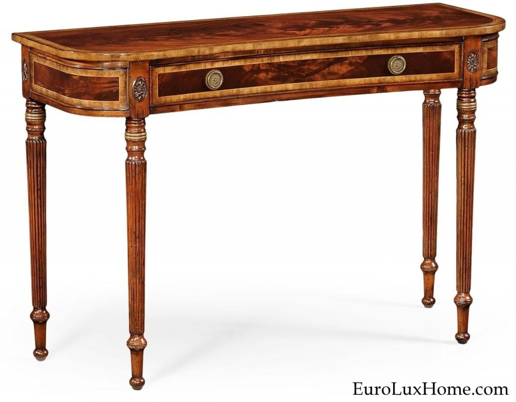 Jonathan Charles Regency Console Table